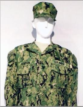 US Navy Enlisted - NWU III (Avocado)