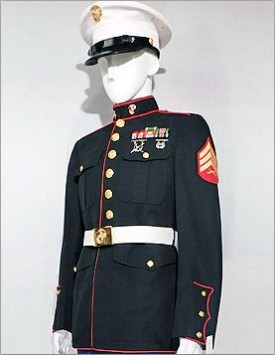 US Marine Corps (USMC) Enlisted Dress Blues