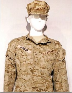 USMC - Enlisted - MARPAT Arid