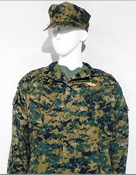 USMC - Enlisted - MARPAT Temperate