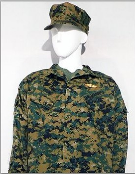 USMC - Officer - MARPAT Temperate