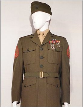 US Marine Corps (USMC) Enlisted Service Dress - Overseas Cap