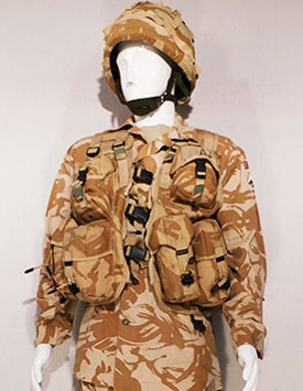 British Army - Enlisted/ Officer - Desert Pattern (to 2017)