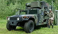 AM General S-788 Command/ Communications Shelter Carrier