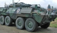 LAV - Light Armoured Vehicle with Turret