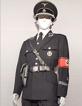 SS Officer, SD Division Security Police (1935-1941)