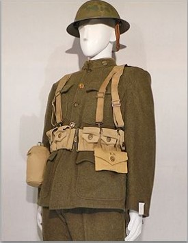 WWI American Enlisted (1918) Fighting and Marching Order