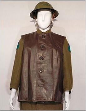 WWI Canadian Leather Jerkin (1915-1918)