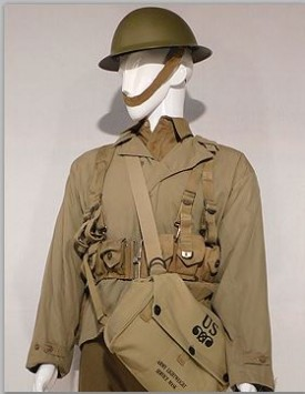 US Enlisted w/ Early Helmet (1941-42)