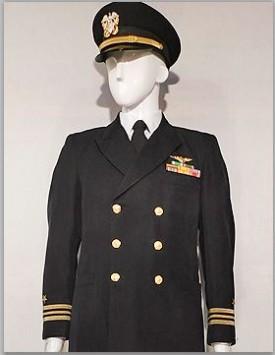US Navy Officer, Winter (Aviator)