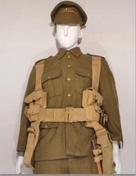 WWI British Enlisted Fighting Order (1914-1915)