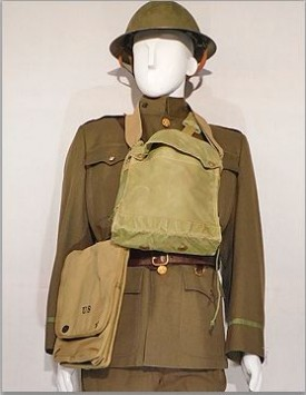 WWI American Officer (1918) Fighting Order