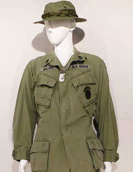 Army - Enlisted - Jungle Fatigues w/Boonie  (1967-75)