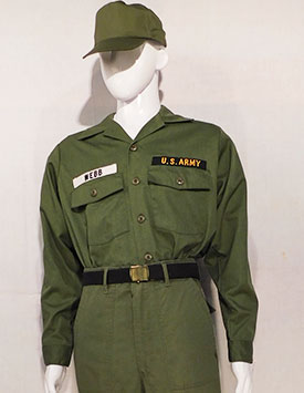 Army - Enlisted - OG107 Fatigues (1952-1967)