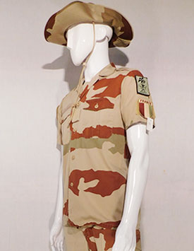 France - Current Army - Enlisted and Officer - Arid Pattern