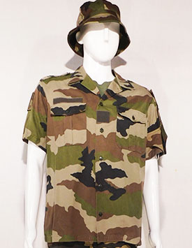 France - Current Army - Enlisted and Officer - Temperate Pattern