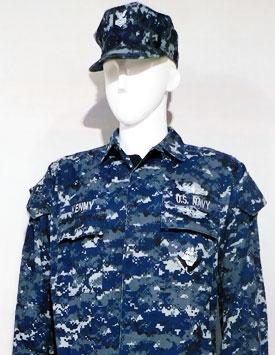 US Navy Enlisted - NWU I (Blueberry)