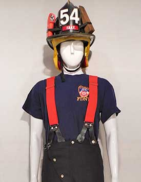 Firefighter - FDNY - Shirt/ Suspenders (Current)