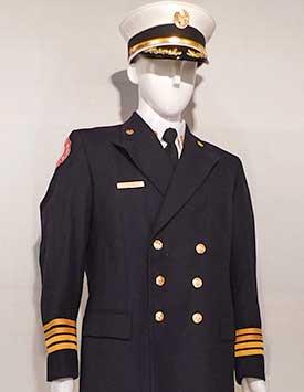 Firefighter - Dress Uniform - Chief (U.S. Style)