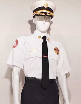 Firefighter - Service Dress - Chief (U.S. Style)