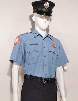 Firefighter - Service Dress (U.S. Lt. Blue Style)