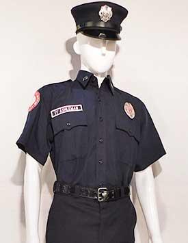 Firefighter - Service Dress (U.S. Dk. Blue Style)