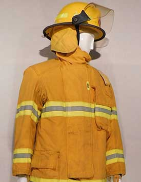 Firefighter - Generic - Yellow Turnout/ Bunker Gear (Current)