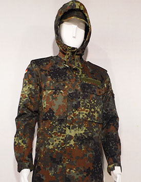All German Armed Services - Enlisted and Officer - Flecktarn Outerwear