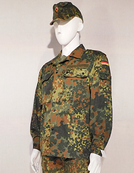 All German Armed Services - Enlisted and Officer - Flecktarn (Current Pattern)