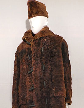 NWMP Constable - Winter Dress Buffalo Coat (1870s)