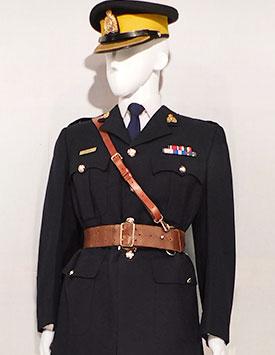 Officer - Blue Serge Uniform w/ Sam Browne Belt (Current)