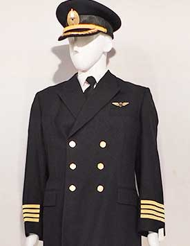 Airline Pilot - Generic (Black and Gold Style)