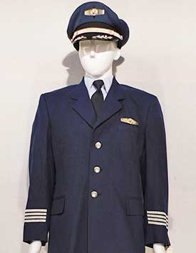 Airline Pilot - Generic (Blue and Silver Style)
