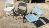 Metal Chairs - Folding