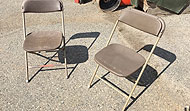 Plastic Chairs - Folding