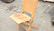 Wooden Chairs - Misc. Folding