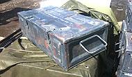 Steel 105mm Crates - Grey