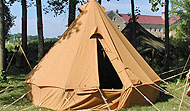 WWI/ WWII Bell Tent (British/ Canadian/ Commonwealth)