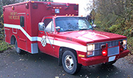 1980s - 1990s Type III Fire Dept. Rescue Truck/ Ambulance
