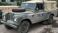 Land Rover 109 (Gas, RHD and LHD)