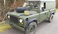 Land Rover 110D (RHD Diesel Hardtop)