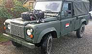 Land Rover 110D (LHD Diesel)