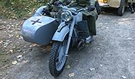 1942 BMW R75 w/ Sidecar (Dnepr Copy)
