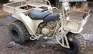 1989 Kawasaki KLT250 (USAF - Gulf War I)