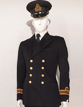 WWII Canadian Navy Uniforms